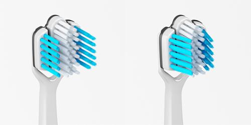 Evolve Triple Toothbrush (2)