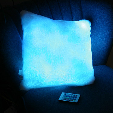 Remote Controlled Color Changing Pillow (3)