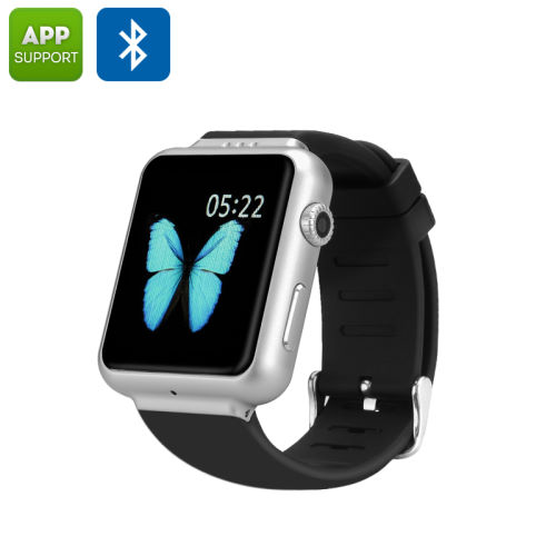 black silver smart watches women a