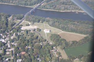 Ohio River at New Harmony IN