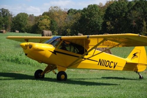 Diana Votaw in her Sport Cub S2