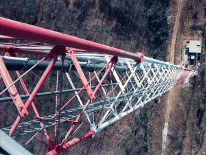 Climbing Transmission towers 3