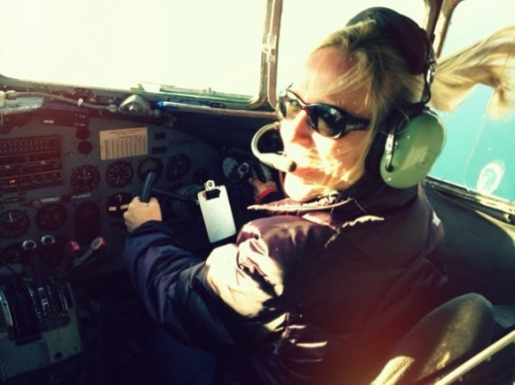 Jeannie Phillips Flying DC3