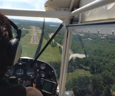 Home from Gaston's OK18 Fly-in