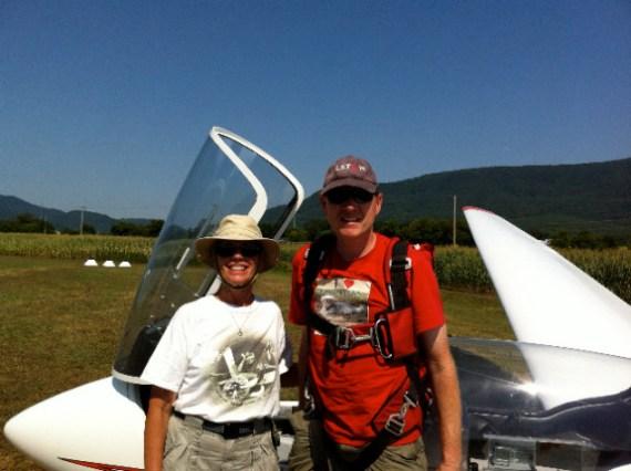Anne Wright Glider 2013