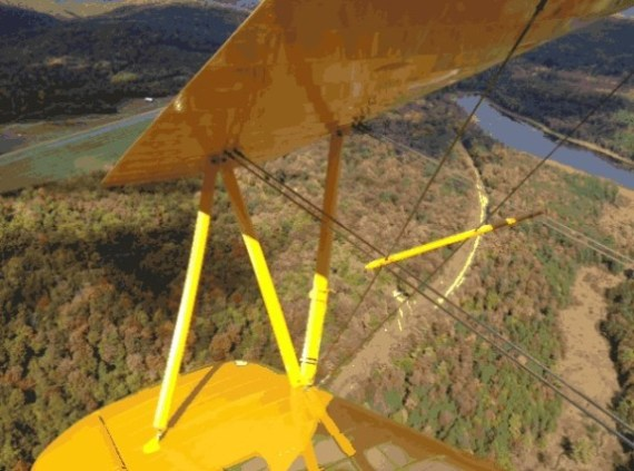 Taken from the Stearman on a beautiful day this year.
