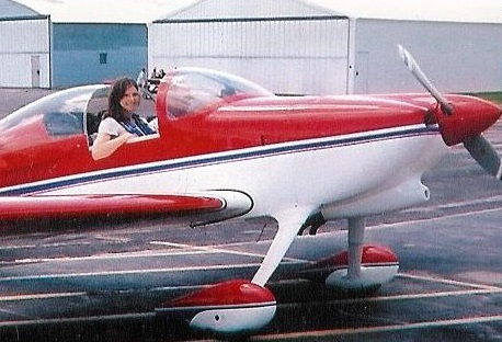 This is my aircraft on the day of purchase - when she took ownership of me.