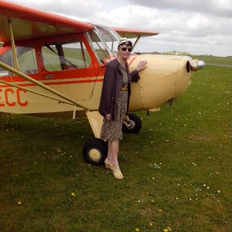 Aeronca Champ Flying in the UK!!