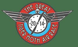 Pilot Charlotte Zeederberg flies The Great Tiger Moth Air Race