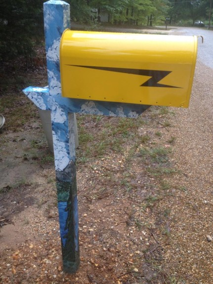 Donna Perkins has the coolest mailbox on the planet
