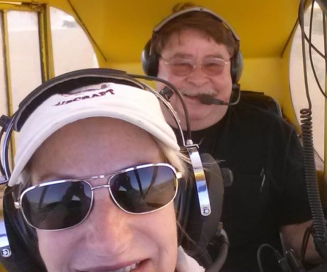 New Taildragger Endorsement: Gail Stillings Burch (Florida)