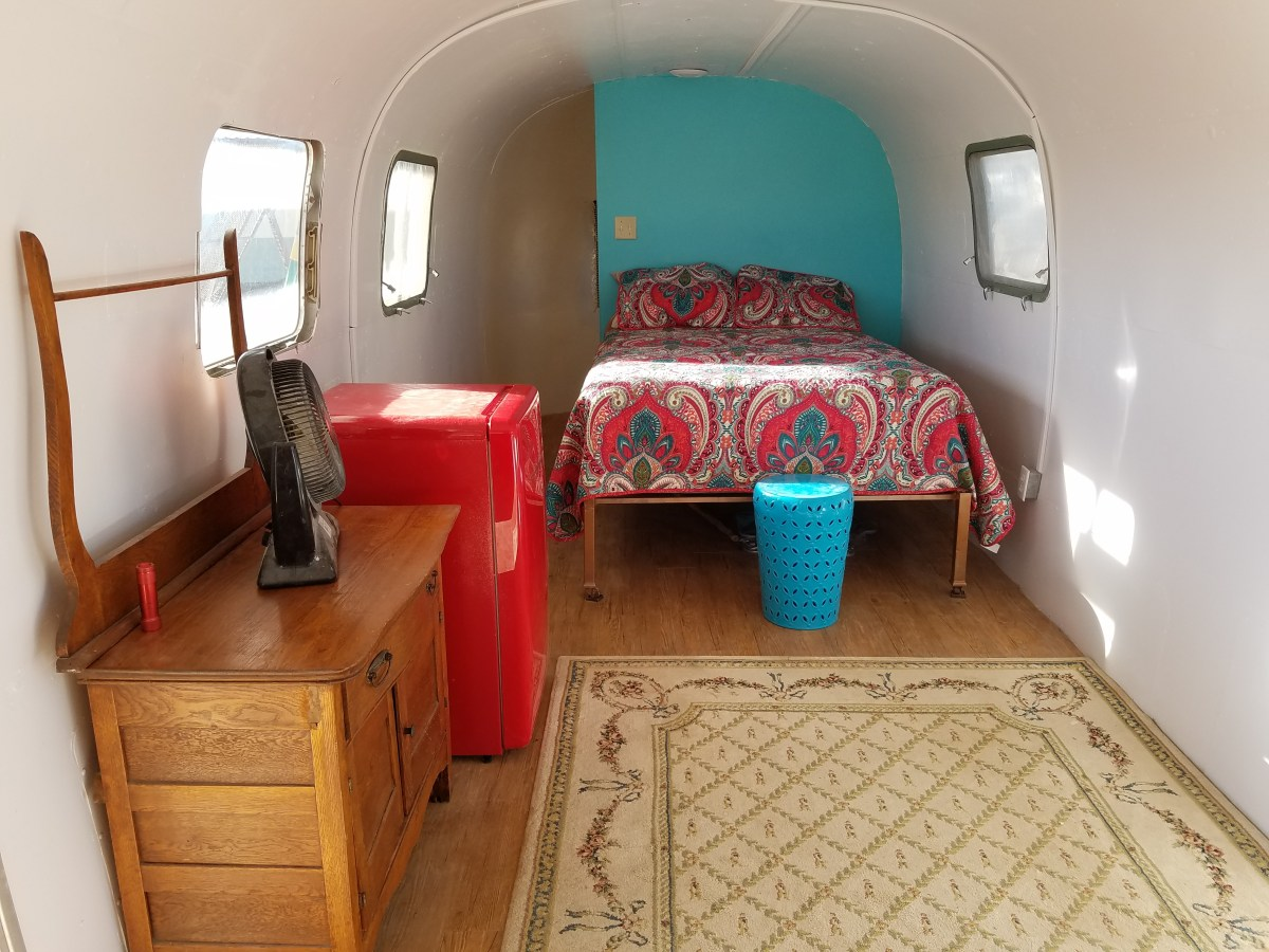 Rent 'The Casita de Aero', Big Bend/Terlingua, TX