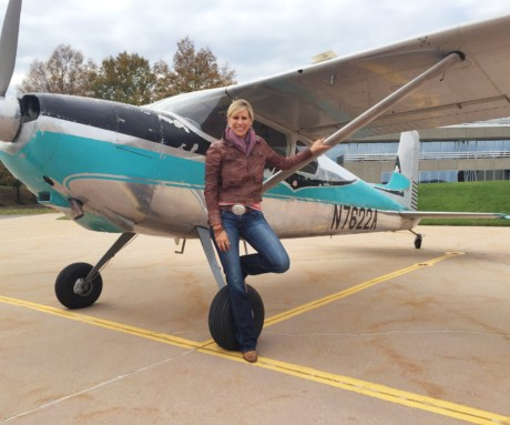 Katie Pribyl, cover article, January 2017 AOPA Pilot Magazine