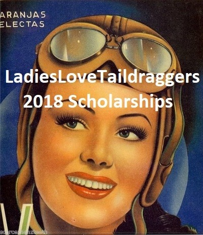 The 2018 LadiesLoveTaildraggers' Scholarships. For Ladies, By Ladies!