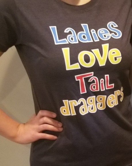 New LadiesLoveTaildraggers Tshirts Are In!!