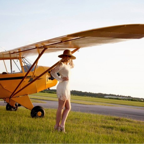 A J-5 named Beatrice (The oldest J-5 Cub still flying!)