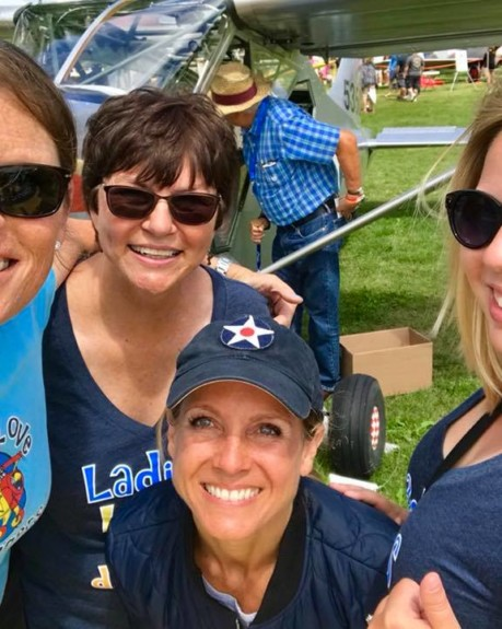Ladies Love Taildraggers Day at Vintage In Review OSH!