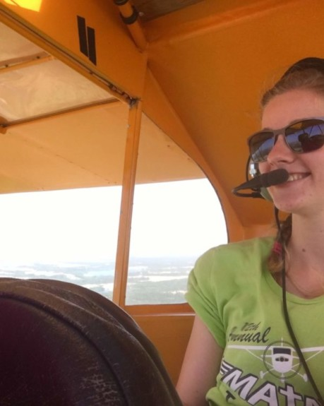 Ellen Robbins flies with Carol Walker of Big Q Aviation!