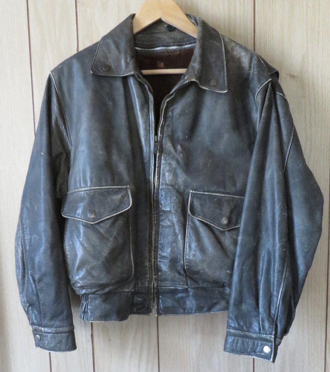 Fundraiser for Theresa Berthelsdorf 's Leather Flight Jacket!