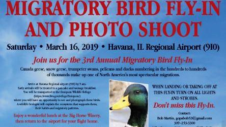 Invitation to the Migratory Bird Fly-in, Havana, IL