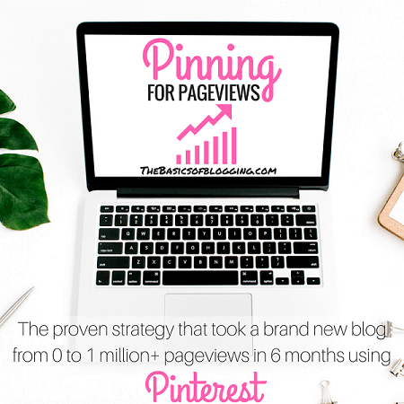 Pinning for pageviews to increase your blog traffic