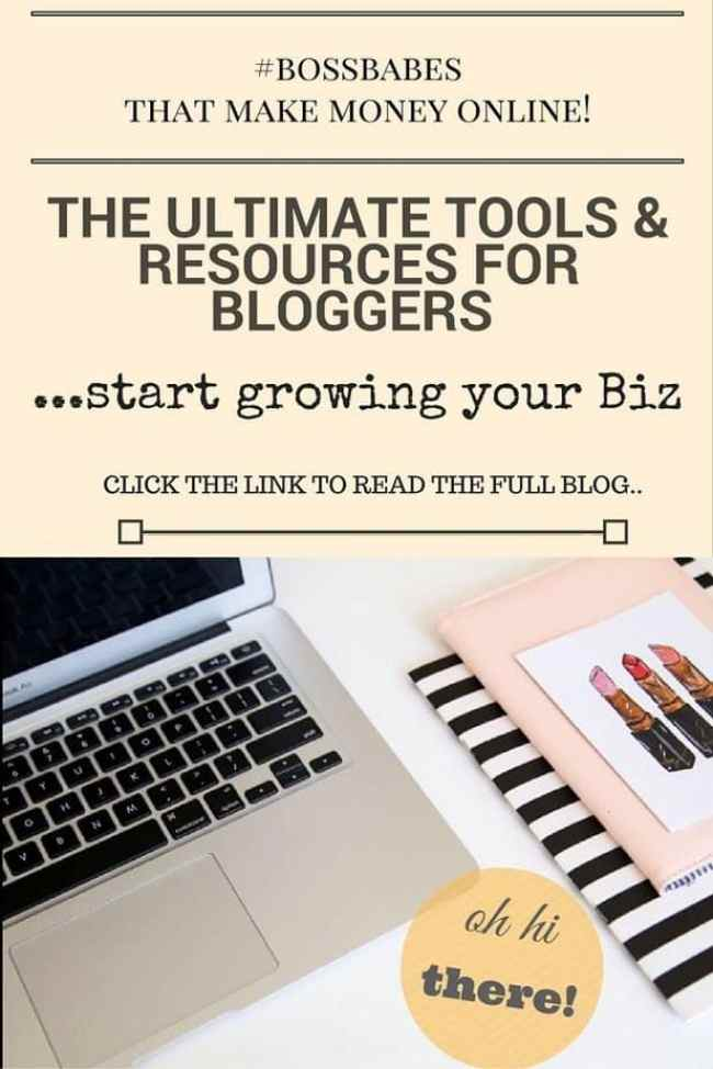 Tools and Resources to grow your blog