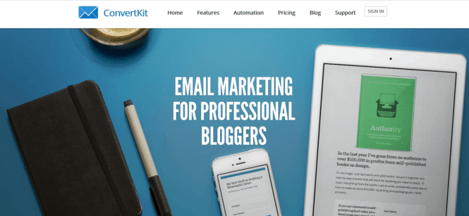 convert kit email marketing