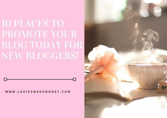 10 places to promote your blog