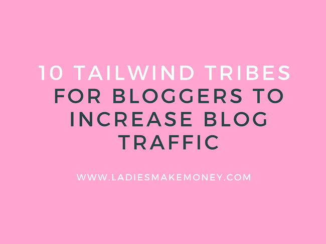 A list of Tailwind tribes for bloggers to join.