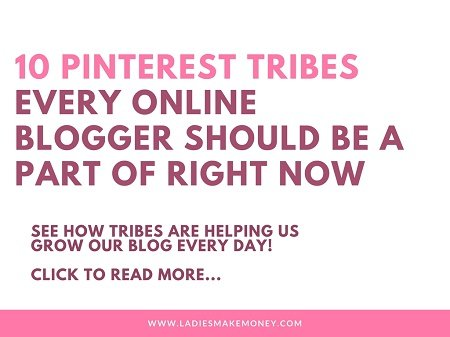 Pinterest tribes for bloggers