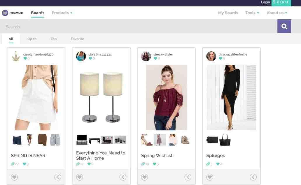 maven online platform for bloggers