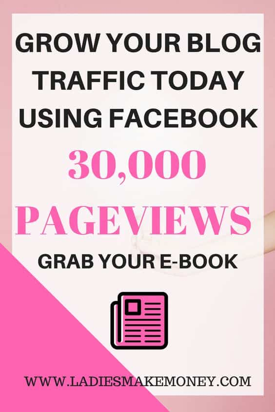 How to grow your blog traffic and increase the traffic using Facebook and social media.