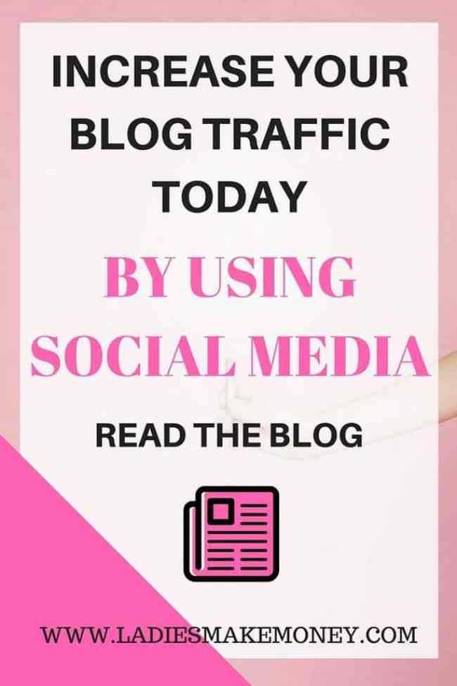 GROW YOUR BLOG TRAFFIC TODAY WITH SOCIAL MEDIA