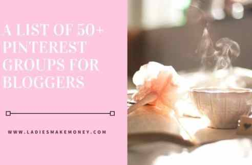 A list of 50 plus pinterest groups for bloggers