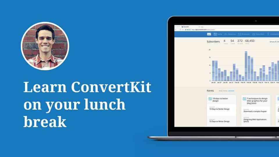 ConvertKit great for email marketing
