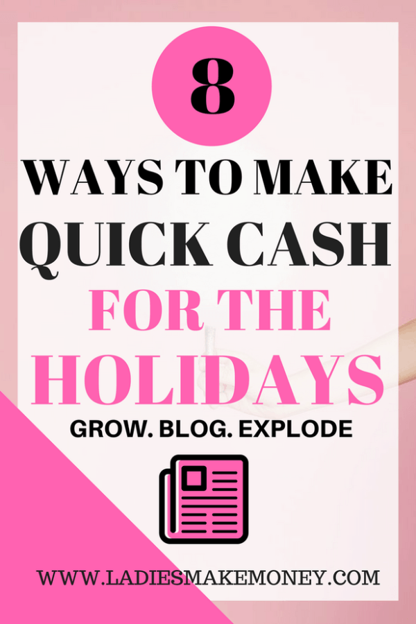 Learn how to make extra money for the holidays. We have amazing tips on how to make quick cash for Christmas this year. How to make extra money as a stay at home for Christmas this year. Making extra money from home for Christmas has never been easy. We have detailed how to make money on the side from home for the holidays. You can make extra income this holiday. #holidays #Christmas
