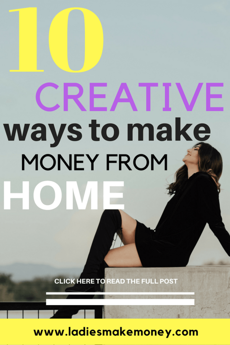 10 Creative ways to make money from home as an Entrepreneur