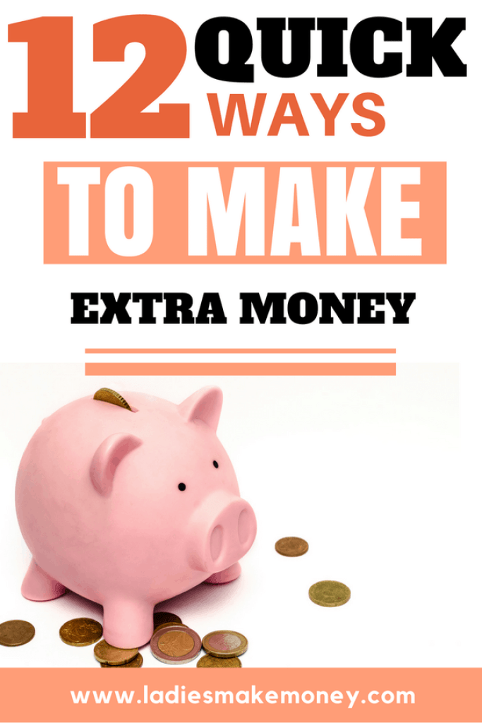 Quick ways to make extra money from home
