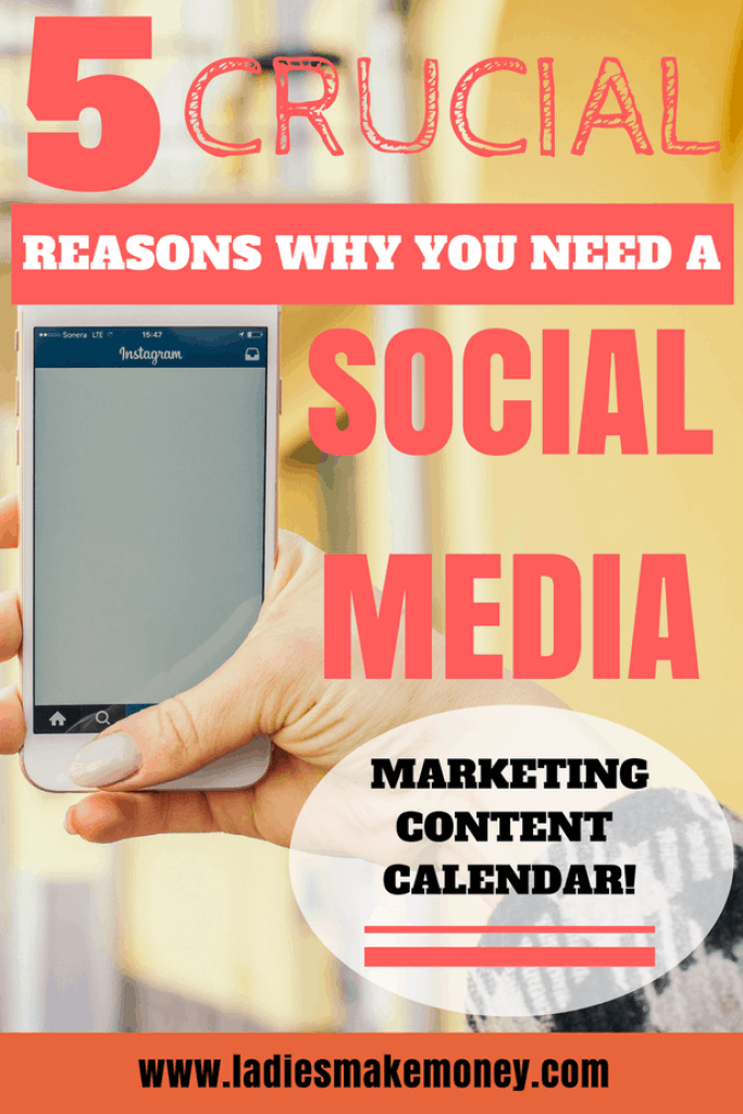 Why You Need a Social Media Marketing Content Calendar. How to increase your social media following. How to get more followers on Social media.