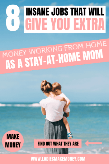 Make extra money as a stay at home mom. Learn how to make extra money working from home as a stay at home. Use these online survey sites to make extra money online that will help you earn a side income in no time!
