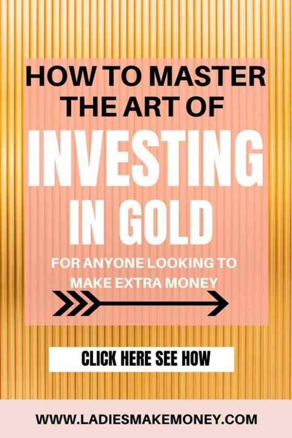 Ever thought of investing in gold? It doesn't just mean buying a gold brick anymore, but you still need to know your stuff before diving in. #investingingold #makingextramoney