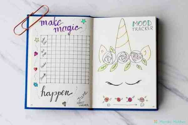 Here are a few bullet journal ideas. How to stay organized with a bullet journal. A few bullet journal inspiration, How to start bullet journal for beginners. Perfect Bullet Journal Layouts #bulletjournal #BJ