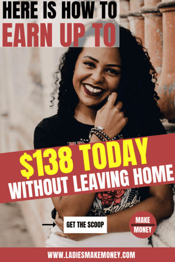 Are you looking for extra cash fast? Looking for ways to work from home? Here are the perfect side hustles so that you can earn extra money for your luxe vacation, to pay off debt, to save money for retirement and more! These are all the things we've done to increase our income so that we have more options to save and spend. #ladiesmakemoney #ladiesmakemoneyonline #makemoney #sidehustle #earnextramoney #money #workfromhome #workathome