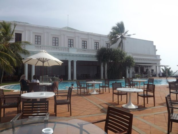 The Terrace, Mount Lavinia Hotel.