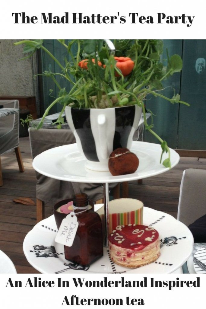 Mad hatters tea party - alice in wonderland inspired afternoon tea