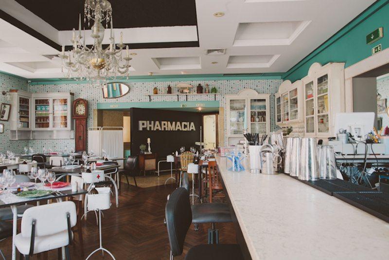 The Pharmacia restaurant, Lisbon.