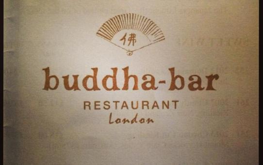 Buddha bar afternoon tea