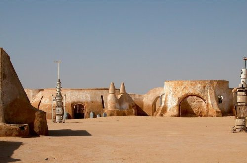 Mos Eisley Spaceport can be found on the Island of Djerba in Tunisia.