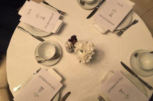 afternoon tea at Hotel Bristol, Warsaw | Ladies What Travel