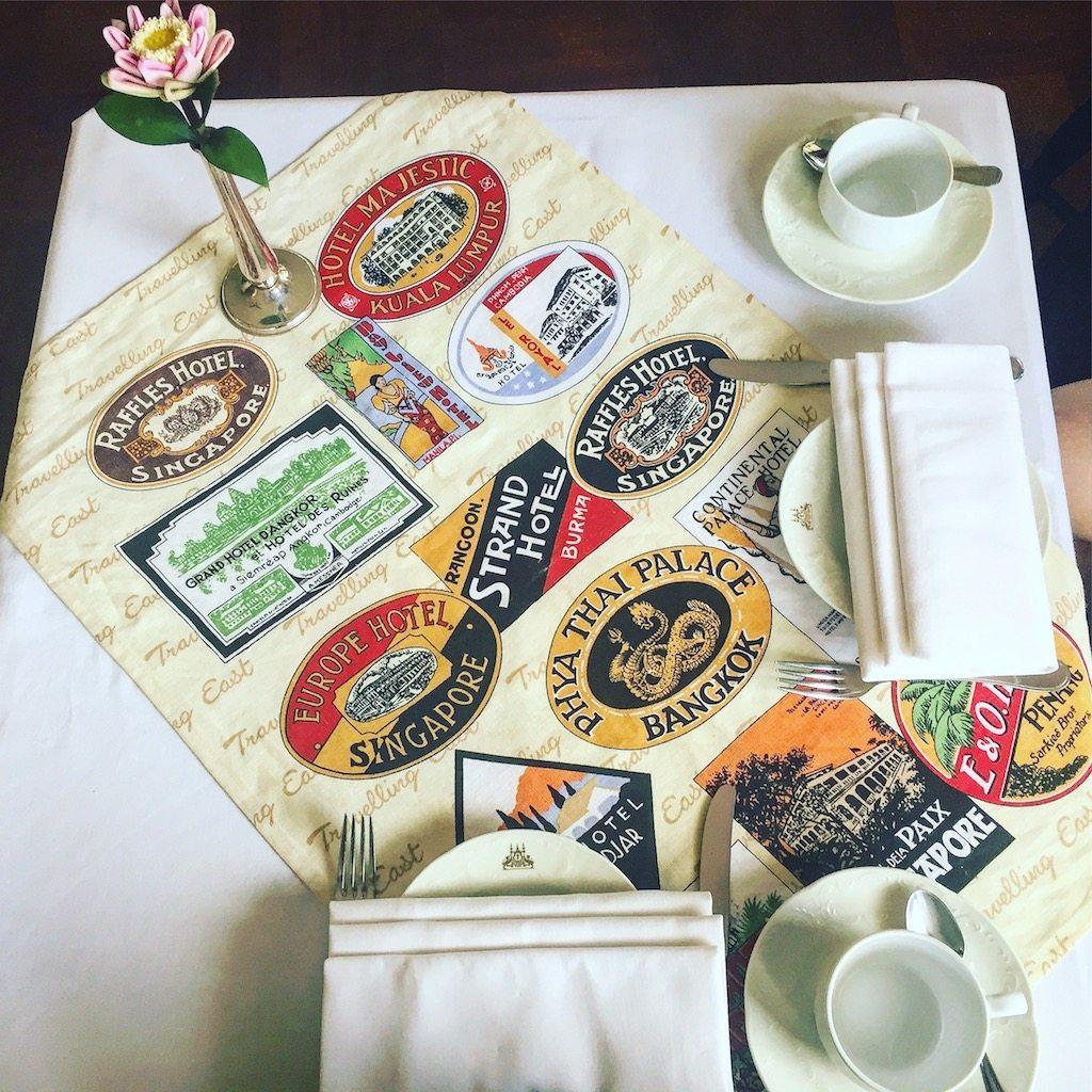 Afternoon tea at Raffles Grand Hotel d'Angkor | Ladies What Travel